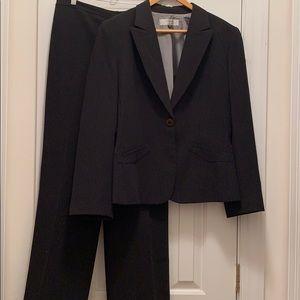 Like New Black Pinstripe Suit